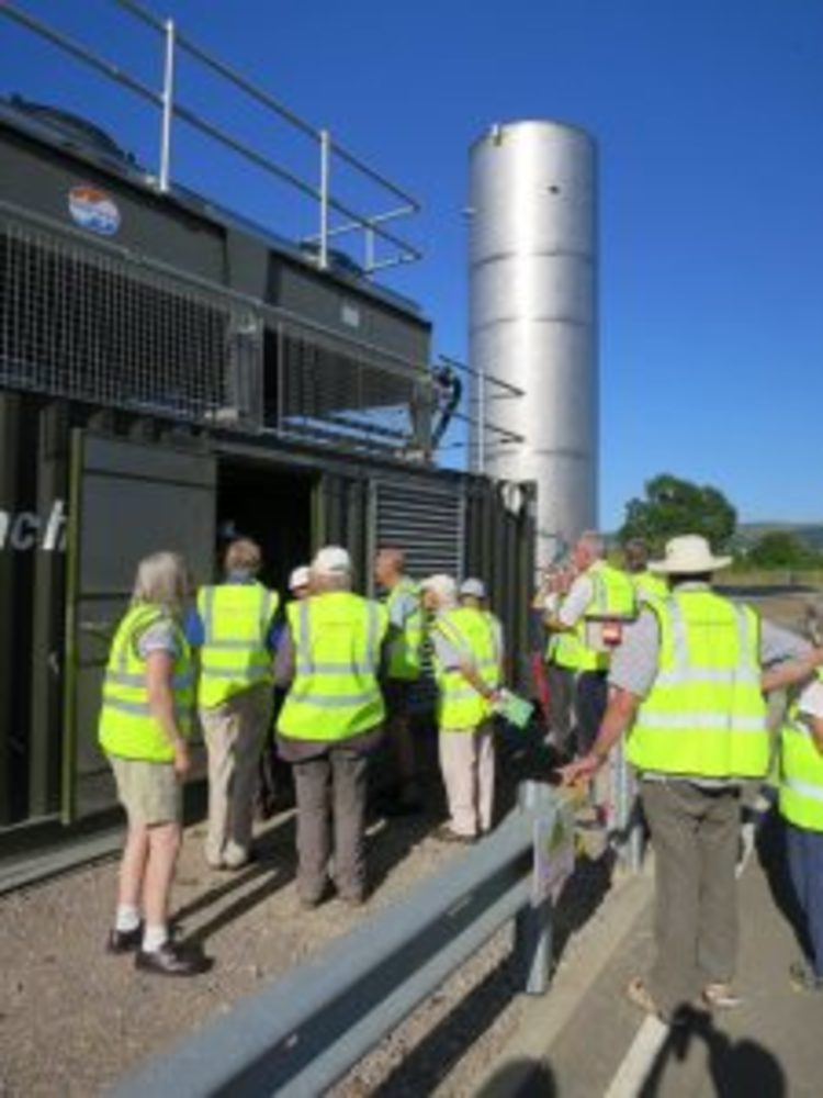 ANDIGESTION WELCOMES GLOUCESTERSHIRE SOCIETY FOR INDUSTRIAL ARCHAEOLOGY TO BISHOPS CLEEVE