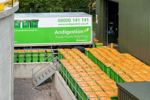 ANDIGESTION OFFER FOOD WASTE BIN EXCHANGE SERVICE IN DEVON AND CORNWALL