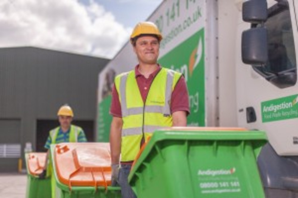 ANDIGESTION TO LAUNCH FOOD WASTE WHEELIE BIN COLLECTIONS IN DEVON AND CORNWALL