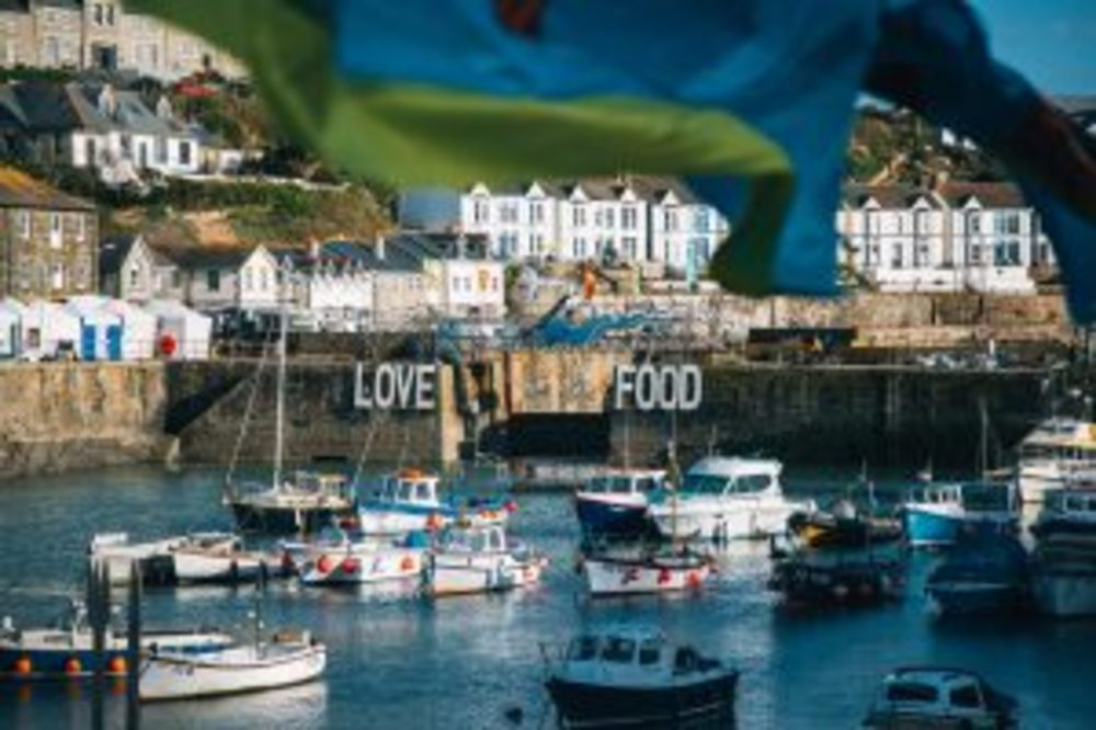 A RECYCLING 'FIRST' FOR PORTHLEVEN FOOD & MUSIC FESTIVAL
